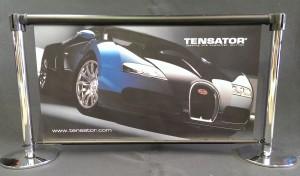 Tensator Retractable Banner